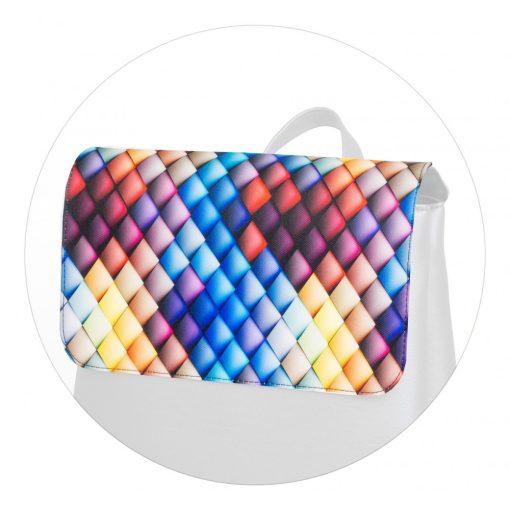 Kora maxi fedél színes háromszög
