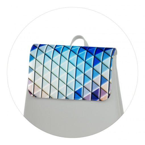 Kora mini fedél kék háromszöges