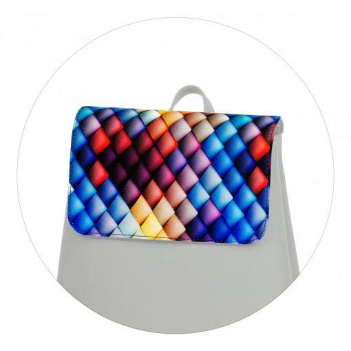 Kora mini fedél színes háromszög